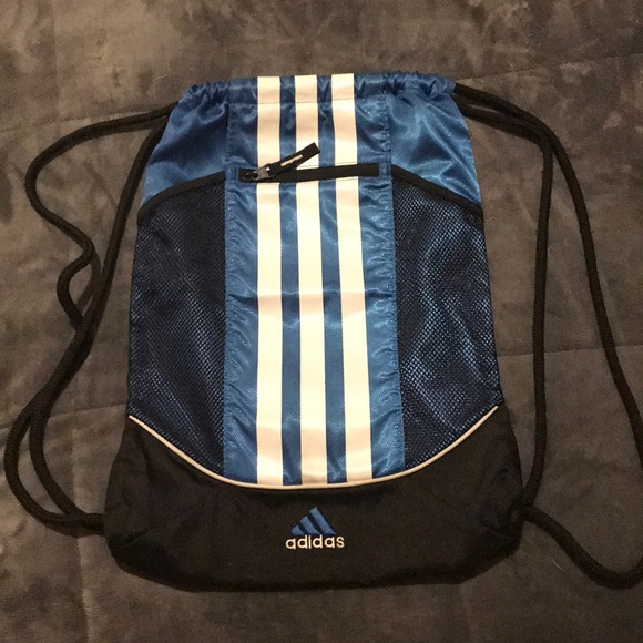 43b69f4663f9 adidas Handbags - Adidas Drawstring Backpack